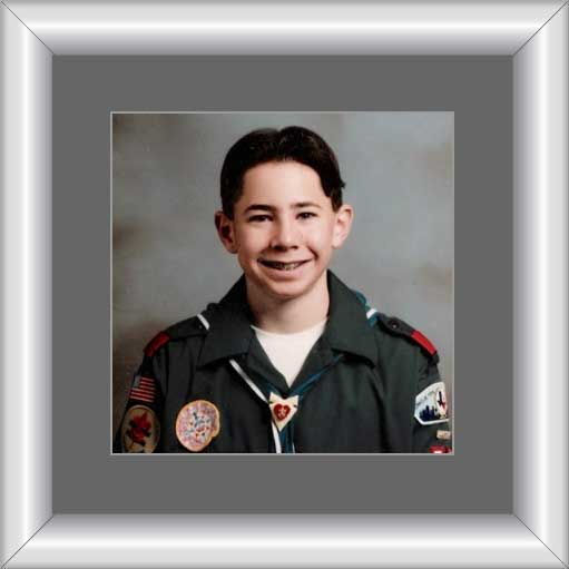 Cassidy Keeland, Eagle Scout 1999