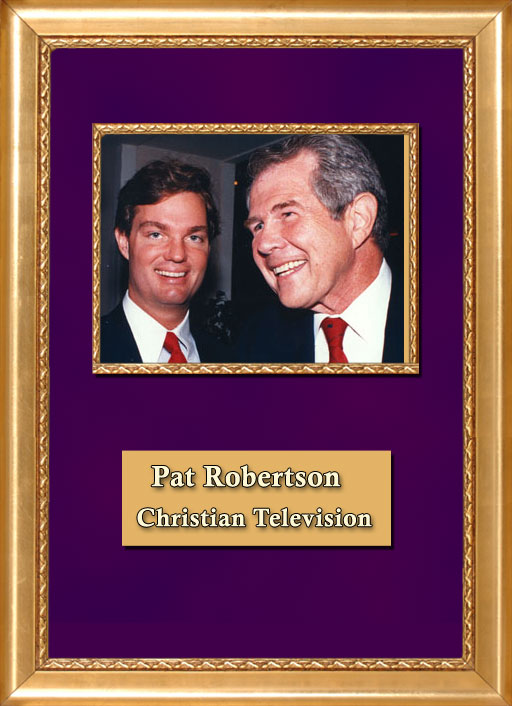Craig Keeland with Christian TV Pat Robertson