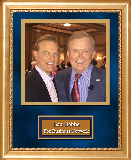 Craig Keeland with Lou Dobbs, Fox Business Network