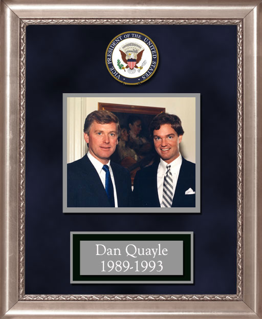 Craig Keeland with  Dan Quayle Vice President 1989 - 1993