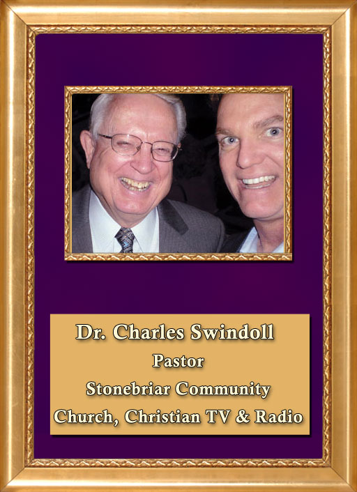 Craig Keeland with Pastor of Stonebriar Community Church and Christian TV and Radio, Dr. Charles Swindoll