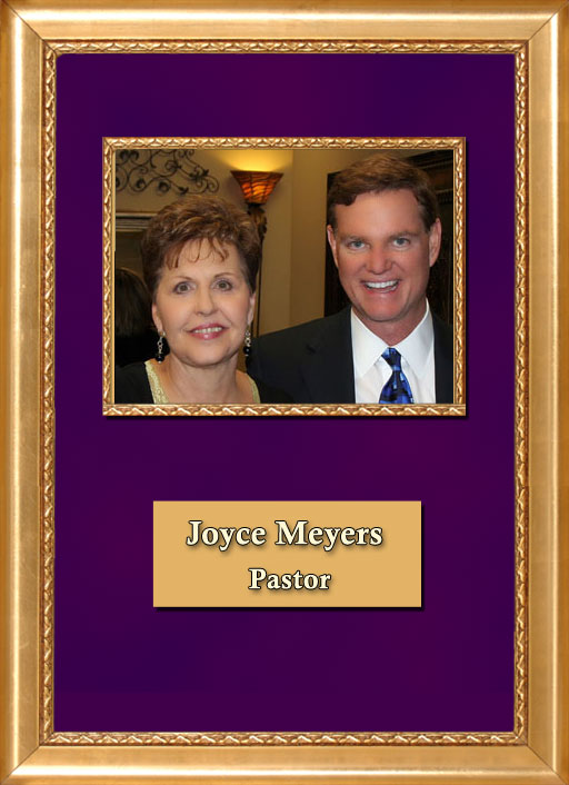 Craig Keeland with Pastor Joyce Meyers