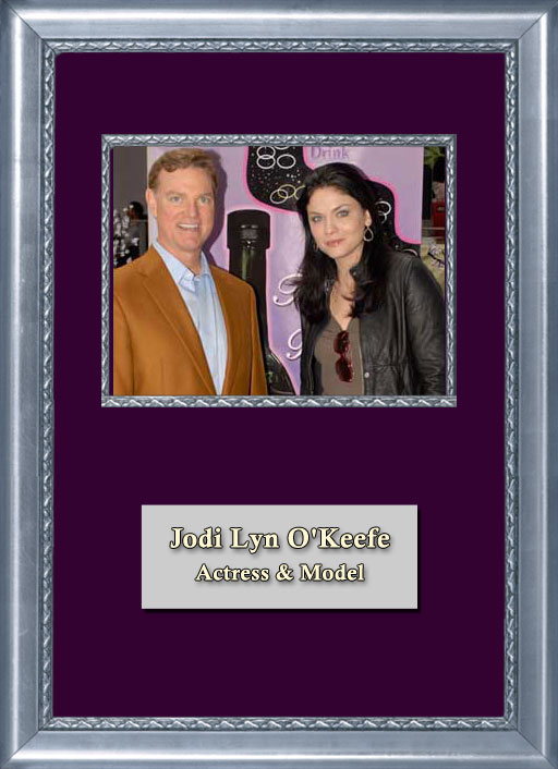 Craig Keeland with actress and model Jodi Lyn OKeefe