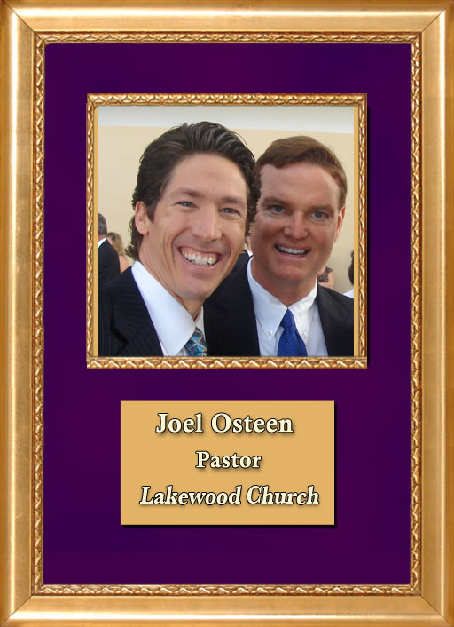 Craig Keeland with Pastor of Highpoint Church in Houston Texas, Joel Osteen