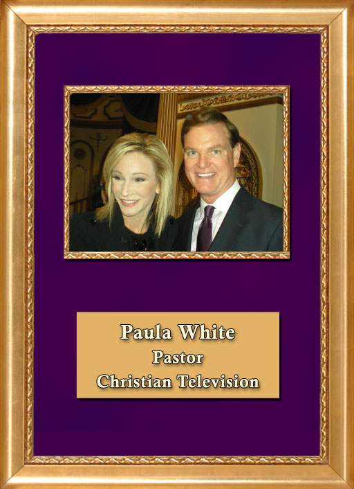 Craig Keeland with Pastor & Christian TV Paula White