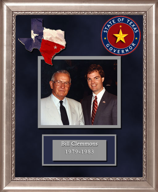 Craig Keeland with  Bill Clemmons Governor of Texas 1979 to 1983
