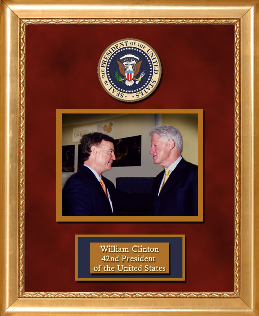 Craig Keeland with  William Clinton 42nd President of the U.S.