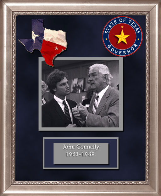 Craig Keeland with  John Connally Governor of Texas 1963 to 1969