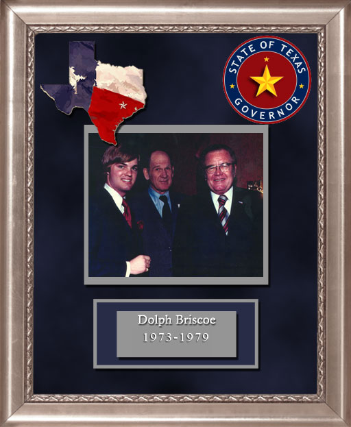 Craig Keeland with  Dolph Briscoe Governor of Texas 1973 to 1979