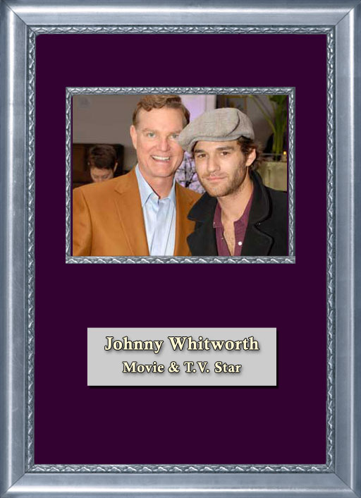 Craig Keeland with Movie and TV Star Johnny Whitworth