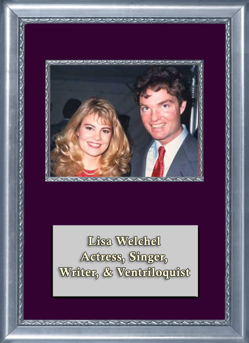 Craig Keeland with Actress, Singer, Writer and TV Star, Lisa Whelchel