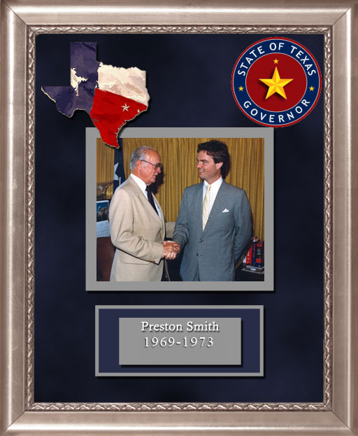 Craig Keeland with  Preston Smith Governor of Texas 1969 to 1973