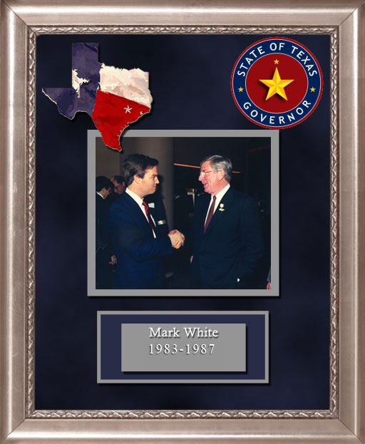 Craig Keeland with  Mark White Governor of Texas 1983 to 1987