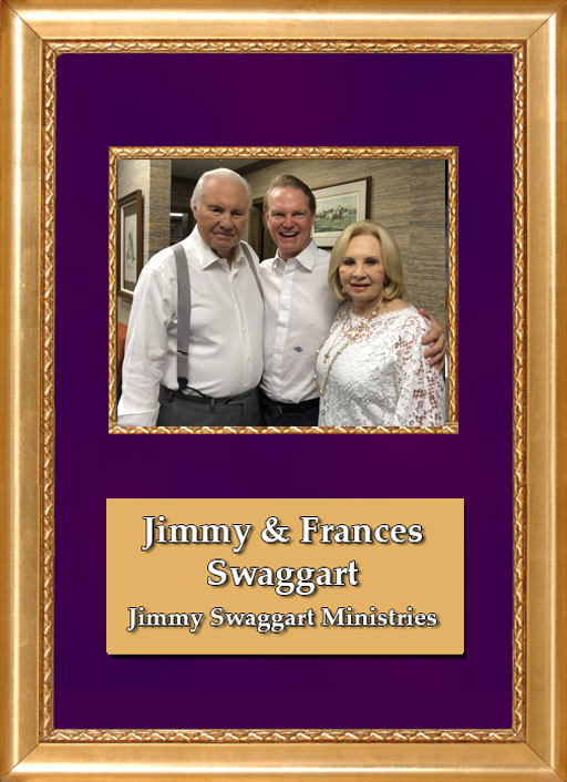 Craig Keeland with Jimmy & Frances Swaggart of Jimmy Swaggart Ministries